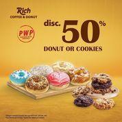 Richeese Factory DISC 50% FOR YOUR FAV DONUT OR COOKIES! (30059261) di Kota Jakarta Selatan