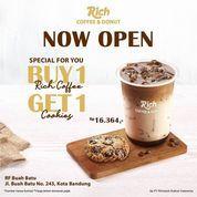 Richeese Factory NOW OPEN - RICH COFFEE & DONUT BUAH BATU! (30066175) di Kota Bandung