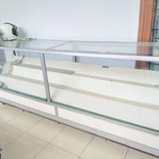 Etalase Kaca Alumunium Panjang 2,4M Bekas HP (30068305) di Kab. Bogor