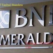 PEMBUATAN HURUF TIMBUL STAINLESS (30096956) di Kab. Berau