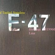 PEMBUATAN HURUF TIMBUL STAINLESS TERBARU   SALATIGA (30097262) di Kab. Mahakam Ulu
