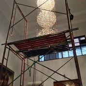 Jasa Pemasangan, Service, Cuci, Bongkar Pasang Lampu Hias Kristal Tangerang Selatan, Bsd, Serpong,. (30097675) di Kota Tangerang Selatan