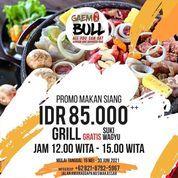 Gaembull Korean Japanese BBQ promo makan siang cuma 85k++ aja & bayar paket GRILL GRATIS SUKI WAGYU (30099816) di Kota Makassar