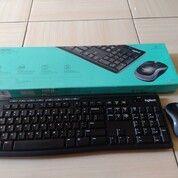 Keyboard Mouse Wireless Logitech Mulus Like New (30122927) di Kab. Sleman
