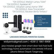 Jasa Instalasi Interior CCTV Google Nest Smart Door Lock Hub Bulb Remote Infrared (30141276) di Kota Jakarta Selatan