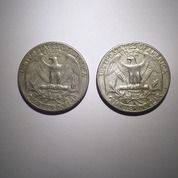 1965 USA 25 Cents (30146072) di Kota Denpasar