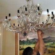Jasa Pemasangan, Service, Cuci Lampu Hias Kristal Depok (30149603) di Kota Depok