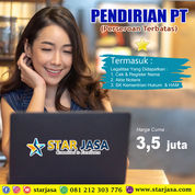 Promo Pendirian PT Seluruh Indonesia Jasa Pembuatan Ijin Perusahaan Murah (30161186) di Kab. Bantul