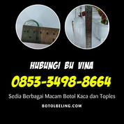 TERPERCAYA +62 853-3498-8664 Botol Kaca Bening Kecil (30166930) di Kab. Nganjuk