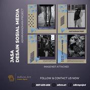TERMURAH!! WA: 0857-4519-4608, Desain Sosial Media Online Nganjuk (30169142) di Kab. Nganjuk
