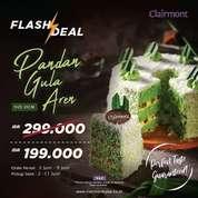 Clairmont Patisserie Pandan Gula Aren Flash Deal (30182834) di Kota Jakarta Selatan