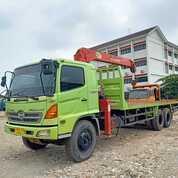 Hino Lohan FM260JW Long Truck Crane 5 Ton Istimewa Sekali (30184436) di Kota Jakarta Barat