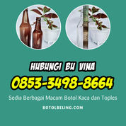 TERSEDIA +62 853-3498-8664 Toko Botol Kaca Cantik (30193482) di Kab. Nganjuk