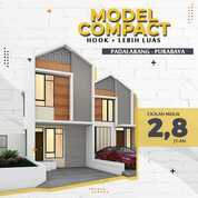 Rumah Indent Cmn 2.8jt Dkt Cipendeuy Padalarang Bandungbarat Cimahi (30210010) di Kota Bandung