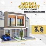 Rumah Indent Bonus Balkon GBLA Summarecon Ciwastra Rancasari Bandung (30210762) di Kota Bandung