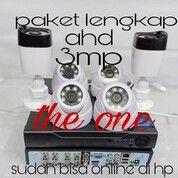 Harga Murah !!! Paket Lengkap IC SONY Cctv Camera Dome Black & Outdor Black Infrared Avicom (30212155) di Kota Bekasi