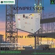 Sewa Kompressor NTT Kapasitas 175cfm Tekanan 7bar (30232317) di Kab. Manggarai