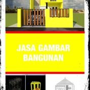 Jasa Gambar Rumah Harga Terjangkau Sleman (30234220) di Kab. Sleman