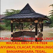 Tahan Lama!! Call 0857-4774-7024 Pengrajin Gazebo Bambu Murah Purbalingga (30245163) di Kab. Kebumen