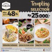 Imperial Tables Discount up to 48%! (30246629) di Kota Jakarta Selatan