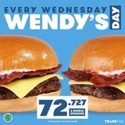 "Wendy's Promo terbaru ""WENDY'S DAY"" (30247090) di Kota Jakarta Selatan"