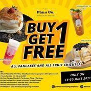 Pan&Co. Fluffy Pancakes BUY 1 GET 1 FREE (30247201) di Kota Surabaya