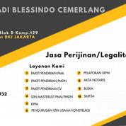 Jasa Perijinan Perusahaan (Akta Notaris Perusahaan, Npwp, Perusahaan, NIB) Dll. (30250104) di Kota Jakarta Pusat