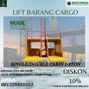 Sewa Lift Barang Palu Kapasitas 1-2Ton (30265164) di Kota Palu