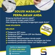Jasa Pengukuhan PKP, SPT Tahunan Badan & Pribadi, Termurah & Berpengalaman Di Solo (30271934) di Kota Surakarta