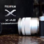 Kamera Mirrorless Fujifilm X-A2 Built-In Wi-Fi Fullset ( Lengkap DusBox Ada ) (30319862) di Kota Malang