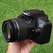 Kamera DSLR Canon Eos 4000D Lensa Kit STM Fullset/ DusBox Ada Lengkap (30320174) di Kota Malang