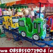 Odong Odong Kereta Panggung Tayo Fiber Warna Cerah (30351232) di Kota Banjarbaru