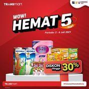 Transmart Carrefour WOW HEMAT (30358154) di Kota Jakarta Selatan