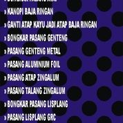 Jasa Pasang Atap Baja Ringan Kota Cirebon (30372260) di Kota Depok