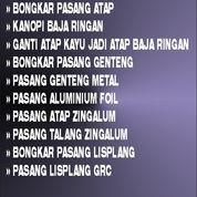 Jasa Pasang Atap Baja Ringan Di Bekasi Wa 0838 4318 3654 (30372458) di Kab. Bekasi