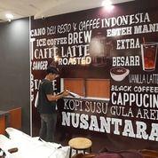 PASANG STIKER WALL DEKORASI CAFE, KANTOR DAN RUMAH DI MEDAN (30372908) di Kota Medan