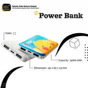 Power Bank 5.000mAh - Custom Design Promosi 1 Sisi Full Colour (30391074) di Kota Jakarta Timur