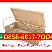 O858-68I7-7OO4 Pengrajin Box Kotak Kayu Lebong (30392348) di Kota Magelang