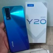Second Vivo Y20 2021 4/64Gb Fullset Like New (30418309) di Kota Jakarta Pusat