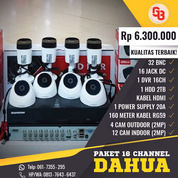 Garansi Paket Complit DAHUA 16Ch 2Megapixel (30424210) di Kota Medan