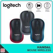 Logitech M185 Mouse Wireless Original (30436405) di Kota Surakarta