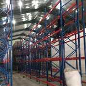 Rak Gudang Pallet Heavy Duty /Pabrik Dan Industry Kap 1000 Kg Perlevel T4000 Mm (30442700) di Kota Makassar