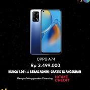 Oppo A74 Promo Cicilan DP Free Admin (30450600) di Kota Jakarta Barat