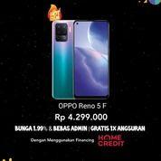 Oppo Reno 5F Bisa Cicilan Promo Bunga Rendah (30450602) di Kota Jakarta Barat