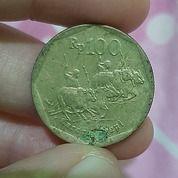 Uang Koin Rp.100 Gambar Balapan Sapi (30453552) di Kota Payakumbuh