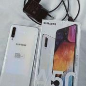 Samsung A50 Ram 6/128 GB Warna Putih Bekas Tapi Masih Baru. Lengkap (Charge+Kotak+Bonus Casing) (30456592) di Kota Tebing Tinggi