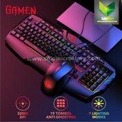 Gamen Station Professional Game Gaming Keyboard + Mouse Combo 3200 DPI Termurah (30471799) di Kota Surakarta