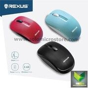 Mouse Wireless Office Rexus Q10 Q 10 3D Silent Click Klik Termurah (30472088) di Kota Surakarta