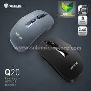 Mouse Rexus Q20 Q 20 Mouse Wireless Office Silent Click Klik Termurah (30472106) di Kota Surakarta