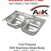 Kitchen Sink Hock Double Bowl Flat / Wastafel Double (30479148) di Kota Surabaya